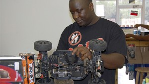 Photo by Cassandra Favre Darrell Dean owns and operates Picayune's newest hobby store Items for Less, which specializes in remote control cars. Dean offers repairs on all items sold in the store and additionally repairs iPhone and tablet screens.