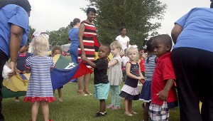 CELEBRATION TIME: Children at Picayune's Early Head Start participated in a number of activities in recognition of the program's 50th anniversary. Photo by Jeremy Pittari